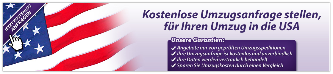 Umzugsanfrage USA